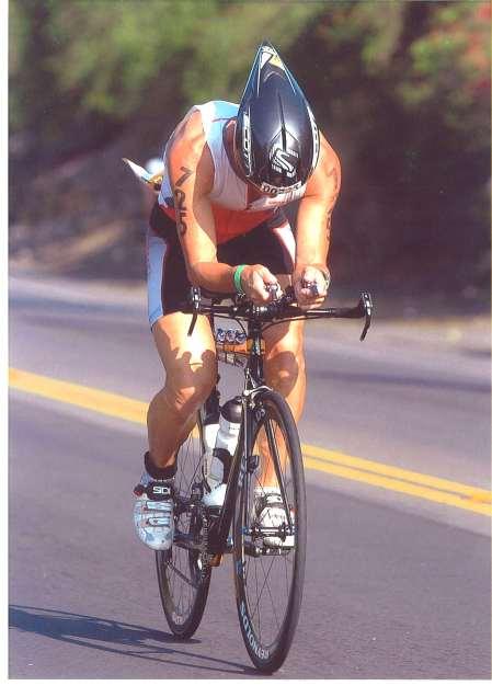 2009: Ironman Hawaii, AK 45 8. Rang, 9Std 47', hier auf dem windigen Rennrad-Parcours