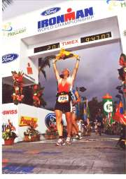 2009: Ironman Hawaii, AK 45 8. Rang, 9Std 47'