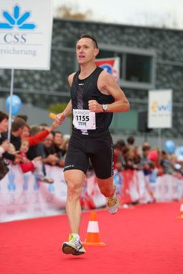 2010: Lucerne Marathon, 2. Gesamtrang 2Std. 36'
