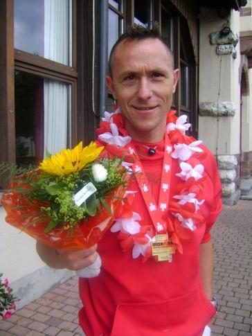 2008: Ironman Zürich 1. Rang AK 40, 9Std 27'