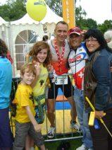 2009: Ironman Zürich 1. Rang AK 45, 9Std 12', Qualifikation für Ironman Hawaii ist geschafft... feiern mit Familie und Freunden...