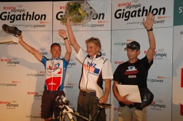 2006: 24h-Gigathlon von Genf - Bern, 3. Gesamtrang single-men, 1. Rang R. Fischli, 2. Rang B. Hug, 3. Rang Steve