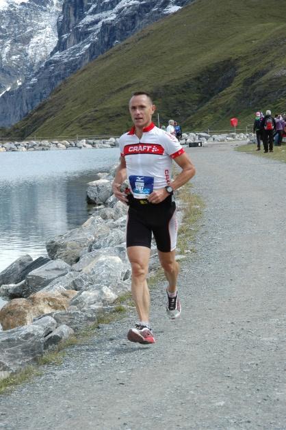 2013: Jungfraumarathon, 36. Gesamtrang, Zeit 3Std. 36'