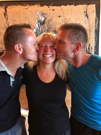 2017: Laufweekend Davos, ... 3 Guides, Steve, Sarah, Sepp, Dank an euch beiden Sarah und Sepp... ihr seid tolle Hilfen!!!