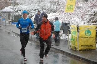 2012: Lucerne-Marathon, Legendäre Wetterverhältnisse, 2. Gesamtrang, 2Std. 39' Urner Verpflegung durch Sepp Herger