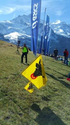 ...Verpflegung am Jungfraumarathon, seit vielen Jahren Tradition