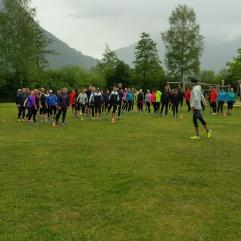 ...vielseitige Lauftreff-Trainings...