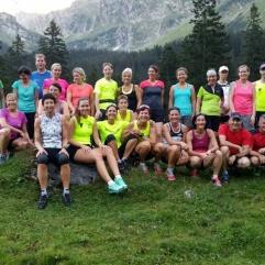 2016: Lauftreff im herrlichen Schächental...
