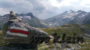 ...in der gewaltigen Berglandschaft