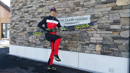 "2017: Fotoshooting für das ""The Nordic House"" in Andermatt"