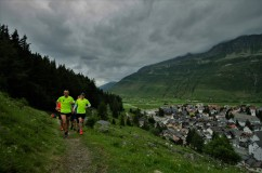 Trailrunning im Juni 2017 in Andermatt...