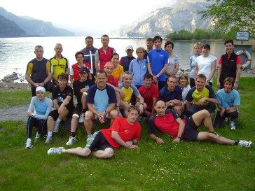 1. Lauftreffjahr 2008 mit ca. 35 Personen gestartet